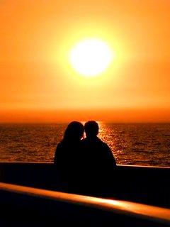 двое у моря фото